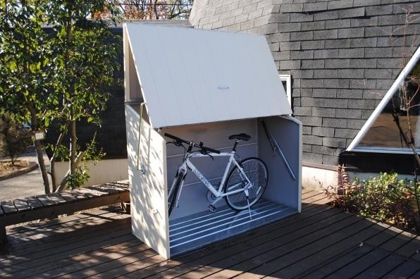おしゃれなサイクルポートのご紹介 サイクルポート専門店 自転車置場の激安販売
